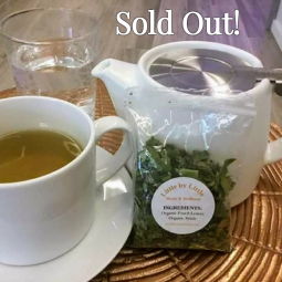 Peach Nettle Tea Sold Out till next Spring